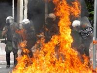 הפגנות ביוון / צלם: רויטרס